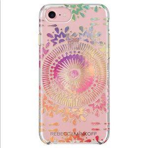 Rebecca Minkoff Black Bohemian IPhone 7 Case